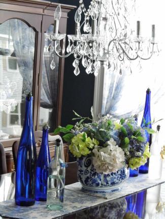 Love my chandelier .......