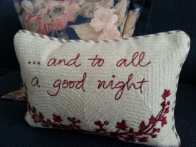 Love this little pillow - Pottery Barn