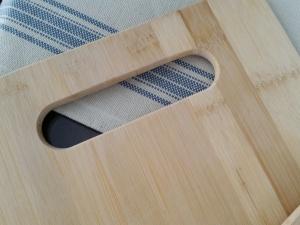Cutting board before I got started