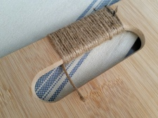 "Keep wrapping - when you get to the end of the jute ""DON'T WORRY"""
