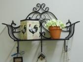 Close up of the little shelf