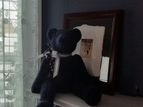 Sweet little teddy bear - Pete must of given this to me over 10 years ago - He sits so sweet on the mantel -