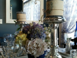 Close up of the centerpiece