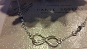 ~ Very popular infinity necklace ~