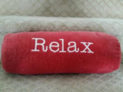 Sweet little lumbar pillow ~