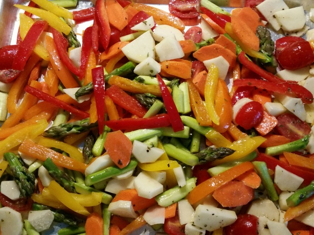 Roasted Vegetables ~