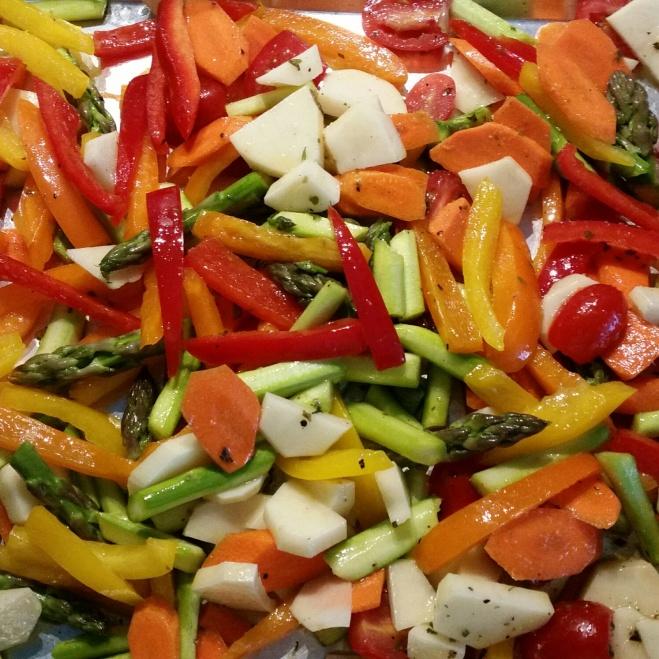 Roasted Vegetables ~