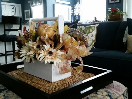 New fall arrangement