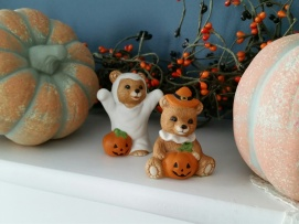 These little bears are from my Mom for our 2 girls. ~