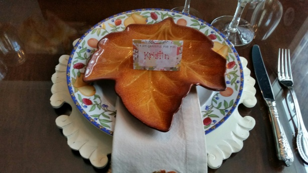 our thanksgiving table 4