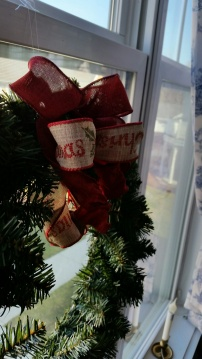 Close up of the wreath ~