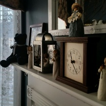 Another view of the mantel