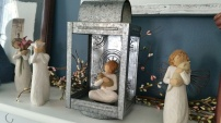 New willow angel for Christmas from Pete