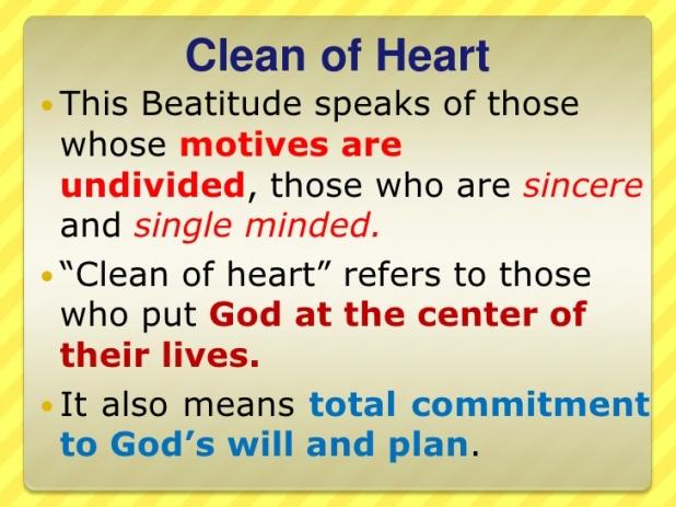 6th beatitude