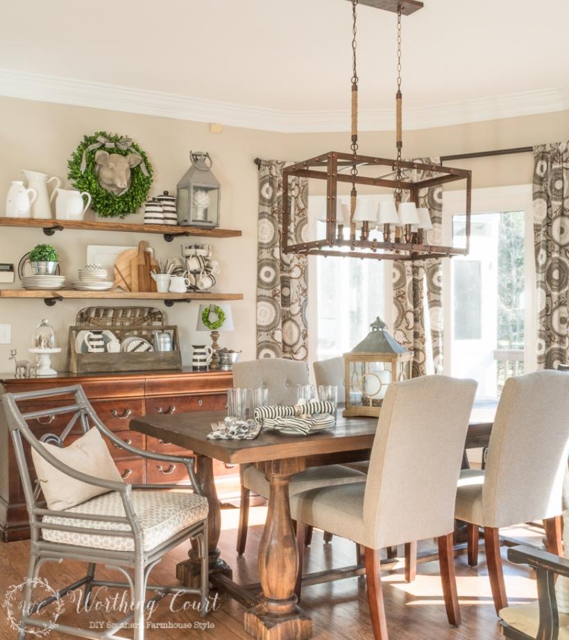 modern farmhouse dining room 2